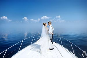 Wedding Boat rental miami